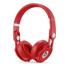 Apple Beats Mixr High-Performance On-Ear Headphones (Red)