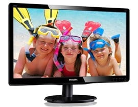 "Philips 200V4QSBR 20"" Full HD LED Monitor"