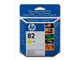 HP 82 (Volume: 28ml) Yellow Ink Cartridge