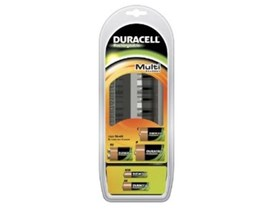 Duracell CEF22 Multi Charger Suitable for AA / AAA / C / D and 9V Rechargeable Batteries