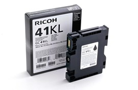 Ricoh GC41KL (Yield: 600 Pages) Light User Black Gel Ink Cartridge