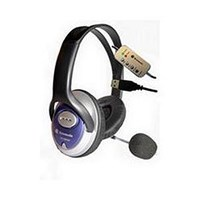 Dynamode DH-660-USB USB Stereo Headphone and Microphone *Open Box*