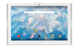 Acer Iconia One 10 B3-A40-K4Z1 (10.1 inch) Tablet PC Cortex (A53) 1.3GHz 2GB 16GB eMMC WiFi BT Camera Android 7.0 Nougat (White)