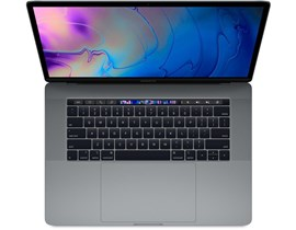 Apple MacBook Pro (15.4 inch) Notebook Core i7 (2.6GHz) 16GB 512GB SSD WLAN BT Webcam Touch Bar Mac OS Mojave (AMD Radeon Pro 560X/Intel UHD Graphics 630) Space Grey
