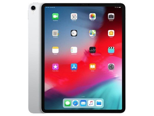 Apple iPad Pro (12.9 inch Multi-Touch) Tablet PC 64GB WiFi Bluetooth Camera Liquid Retina Display Face ID Apple Pay iOS12 (Silver)