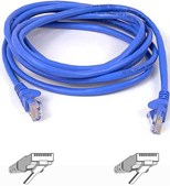 15m RJ45 CAT-5e Snagless Molded Patch Cable