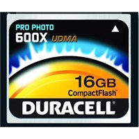 Duracell Pro Photo 16GB 600x 90 MB/s CompactFlash Card