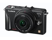 Panasonic DMC-GF2CEB-K Digital Camera inc 14mm Lens - Black