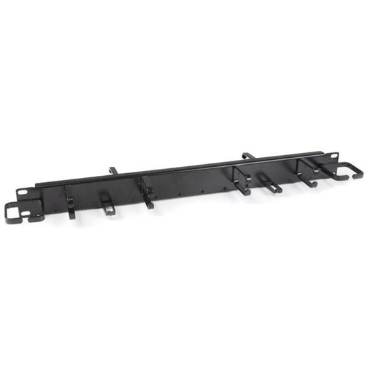 StarTech.com 1U 19 inch Horizontal Cable Management Panel