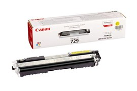 Canon 729 (Yield: 1,000 Pages) Yellow Toner Cartridge