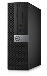 Dell OptiPlex 3040 Small Form Factor PC Core i5 (6500) 3.2GHz 4GB 500GB LAN Windows 7 Pro+Media Upgrade to Windows 10 Pro (HD Graphics 530)
