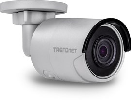 TRENDnet (8MP) IR Bullet Network Camera H.265 WDR PoE Day/Night Indoor/Outdoor (Silver) V1.0R
