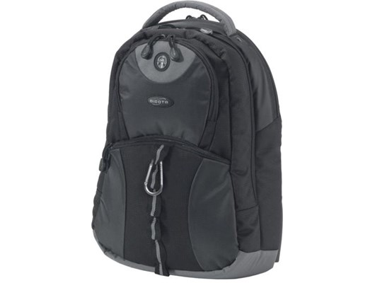 Dicota BacPac Mission Notebook Backpack (Black) for 15 inch - 16.4 inch  Notebook d7955bd68e