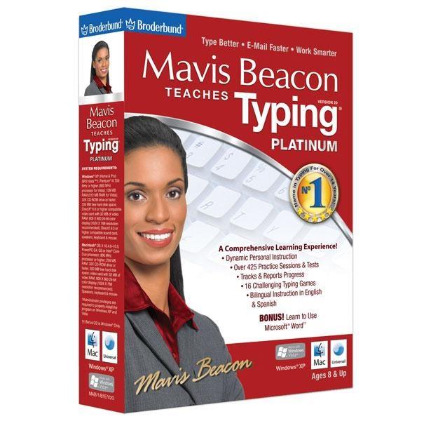 Mavis Beacon Teaches Typing Powered by UltraKey