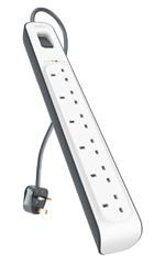Belkin Surge Protector 6 Way Outlet
