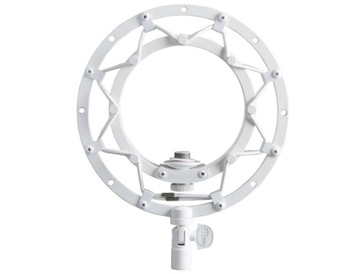 Blue Microphones Radius II Shock Mount (White) for Yeti and Yeti Pro Microphones