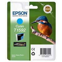 Epson Kingfisher T1592 UltraChrome Hi-Gloss2 Cyan Ink Cartridge