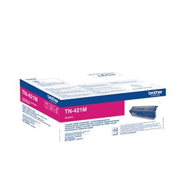 Brother TN-421M (Yield: 1,800 Pages) Magenta Toner Cartridge