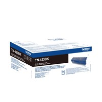 Brother TN-423BK (Yield: 6,500 Pages) High Yield: Black Toner Cartridge