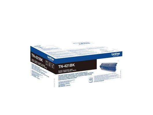 Brother TN-421BK (Yield: 3,000 Pages) Black Toner Cartridge