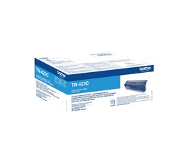 Brother TN-423C (Yield: 4,000 Pages) High Yield: Cyan Toner Cartridge