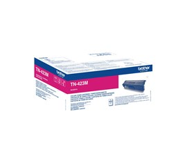 Brother TN-423M (Yield: 4,000 Pages) High Yield: Magenta Toner Cartridge
