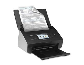 Brother ADS-2800W (A4) Wireless Network Document Scanner 9.3cm Touchscreen USB 2.0 30ppm (Colour/Mono)