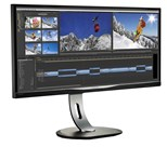 Philips Brilliance BDM3470UP (34.0 inch) Ultra Widescreen LCD Display with MultiView 1000:1 320cd/m2 3440x1440 14ms USB/VGA/Dual-Link DVI/DisplayPort/HDMI (Black)