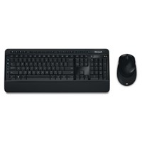 Microsoft 2000 USB Wireless Desktop Keyboard and Mouse (Black)