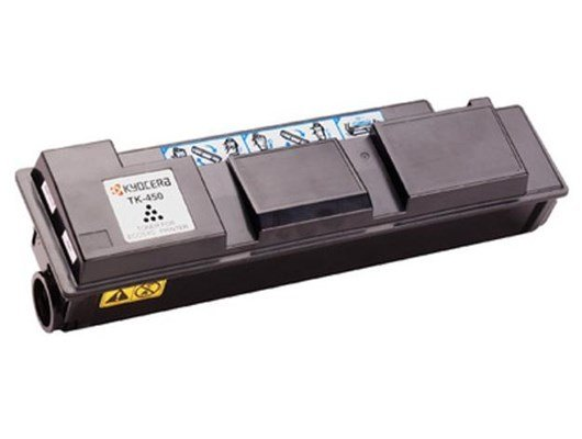 Kyocera TK-450K Black (Yield 15,000 Pages) Toner Cartridge for FS-6970DN Printers