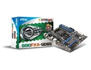 MSI 990FXA-GD65 AMD Socket AM3+ Motherboard