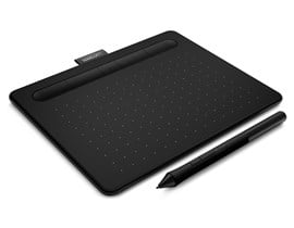 Wacom Intuos CTL-4100WL Small Creative Pen Tablet with Bluetooth (Black) - EN, DE, SV, PL, RU