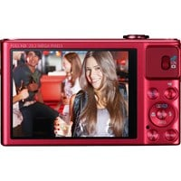Canon PowerShot SX620 HS (21.1MP) Digital Camera 25x Optical Zoom 3.0 inch LCD Screen with WiFi (Red)