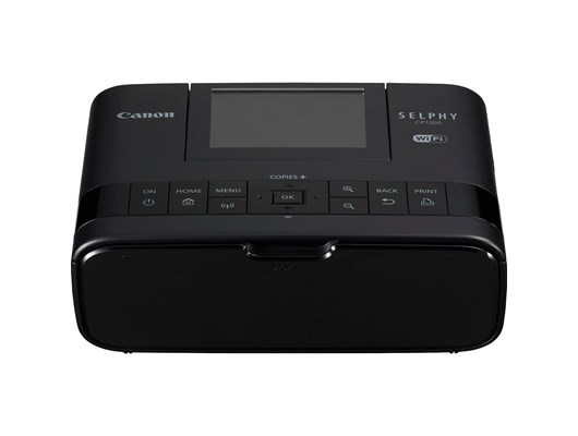 Canon SELPHY CP1300 Photo Printer 3.2 inch LCD 27 sec (Photo) - Black