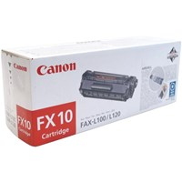 Canon FX-10 (Yield 2,000 Pages) Monochrome Laser Fax Cartridge 0263B002AA