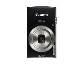 Canon IXUS 185 (20.5MP) Digital Compact Camera 8x Optical Zoom 2.7 inch TFT LCD (Black)