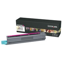 Lexmark (High Yield: 7,500 Pages) Magenta Toner Cartridge for X925 MFP Laser Printer