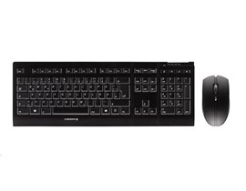 CHERRY B.UNLIMITED 3.0 Wireless Keyboard and Mouse Set (Black)