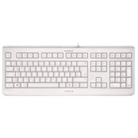 CHERRY KC 1068 Wired USB Keyboard (Light Grey)
