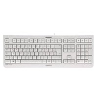 CHERRY KC 1000 Wired USB Keyboard (Pale Grey)