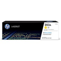 HP 203A (Yield: 2,500 Pages) Original LaserJet Toner Cartridge (Yellow)