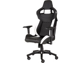 Corsair T1 Race 2018 Gaming Chair (Black/White)
