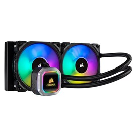 Corsair Hydro Series H100i RGB PLATINUM (240mm) Liquid CPU Cooler