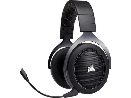 Corsair HS70 Wireless Gaming Headset with Microphone (Carbon)