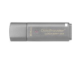 Kingston DataTraveler Locker+ G3 64GB USB 3.0