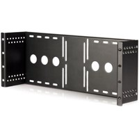 StarTech.com Universal VESA LCD Monitor Mounting Bracket for 19 inch Rack or Cabinet