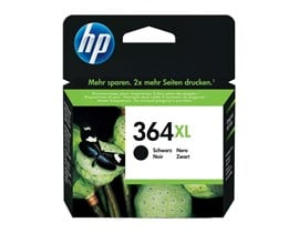 HP 364XL (Yield 550 Pages) Black Ink Cartridge for Deskjet 3070A/Officejet 4620/Photosmart 5510/5514/6510/7510/Photosmart Plus Printers