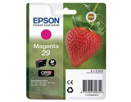 Epson Strawberry 29 T2983 (Yield 180 pages) Claria Home Magenta 3.2ml Ink Cartridge (Blister Pack)