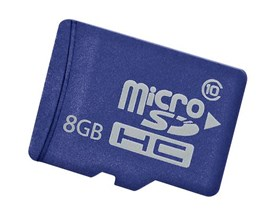 HP Enterprise 8GB Class 10 microSD Card