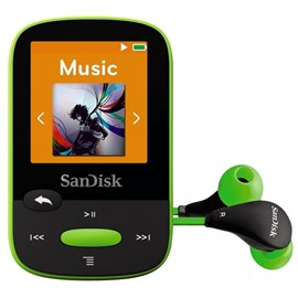 SanDisk Clip Sport (8GB) MP3 Player (Lime)